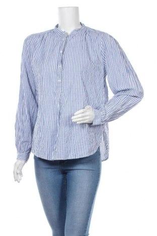 Γυναικεία μπλούζα H&M L.O.G.G., Μέγεθος M, Χρώμα Μπλέ, 99% βαμβάκι, 1% ελαστάνη, Τιμή 13,64€