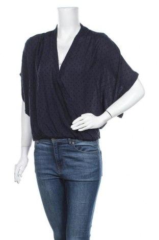 Γυναικεία μπλούζα H&M L.O.G.G., Μέγεθος M, Χρώμα Μπλέ, 94% μοντάλ, 6% ελαστάνη, Τιμή 11,69€