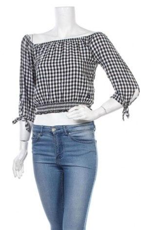 Γυναικεία μπλούζα Hollister, Μέγεθος S, Χρώμα Μαύρο, Βισκόζη, Τιμή 11,69€