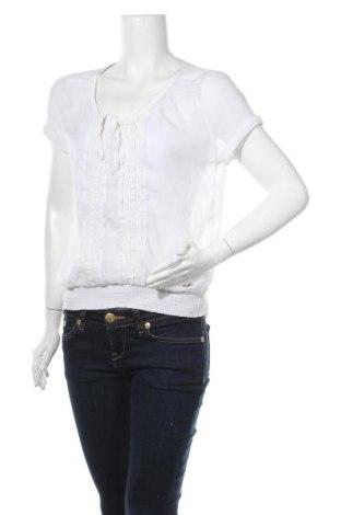 Γυναικεία μπλούζα Hollister, Μέγεθος L, Χρώμα Λευκό, Τιμή 7,79€