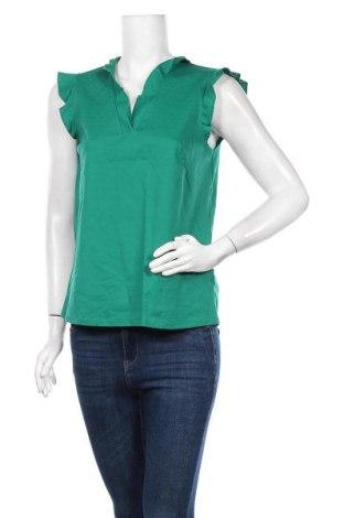Γυναικεία μπλούζα Holly & Whyte By Lindex, Μέγεθος S, Χρώμα Πράσινο, 51% βισκόζη, 39% πολυαμίδη, 10% ελαστάνη, Τιμή 9,35€