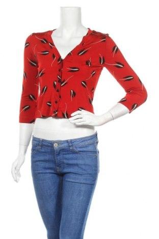 Дамска блуза Isabel De Pedro, Размер S, Цвят Червен, Полиамид, еластан, Цена 20,25лв.