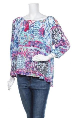 Γυναικεία μπλούζα Jean Pascale, Μέγεθος XL, Χρώμα Πολύχρωμο, Τιμή 10,52€