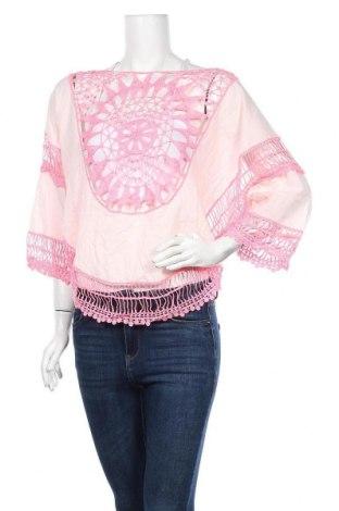 Γυναικεία μπλούζα Jean Pascale, Μέγεθος M, Χρώμα Ρόζ , Βαμβάκι, Τιμή 11,04€