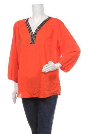 Γυναικεία μπλούζα Joy, Μέγεθος XL, Χρώμα Πορτοκαλί, 97% πολυεστέρας, 3% ελαστάνη, Τιμή 12,28€