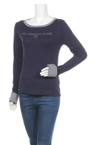 Γυναικεία μπλούζα Kangaroos, Μέγεθος S, Χρώμα Μπλέ, Βαμβάκι, Τιμή 16,12€