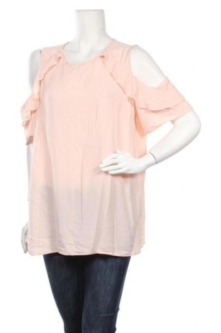 Γυναικεία μπλούζα Khoko, Μέγεθος XL, Χρώμα Ρόζ , Πολυεστέρας, ελαστάνη, Τιμή 10,49€