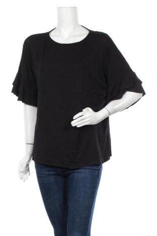Γυναικεία μπλούζα Khoko, Μέγεθος XL, Χρώμα Μαύρο, Βισκόζη, ελαστάνη, Τιμή 10,49€