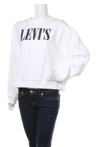 Дамска блуза Levi's, Размер L, Цвят Бял, 83% памук, 17% полиестер, Цена 52,47лв.
