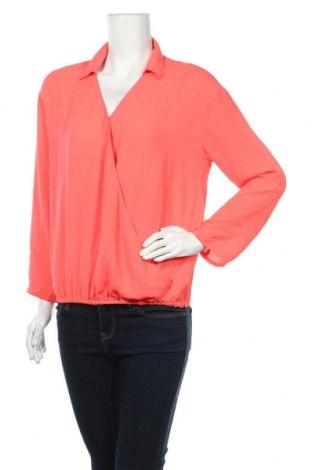 Дамска блуза Lh By La  Halle, Размер M, Цвят Оранжев, Полиестер, Цена 10,40лв.
