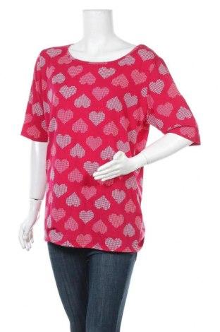 Дамска блуза LulaRoe, Размер 3XL, Цвят Червен, 95% полиестер, 5% еластан, Цена 4,70лв.