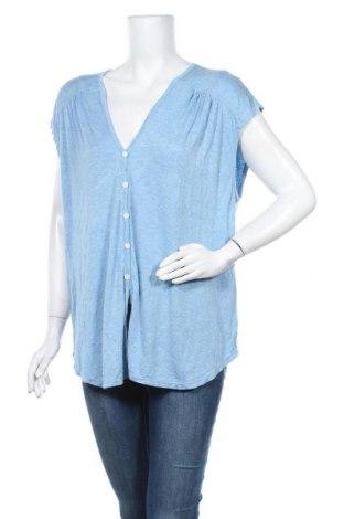 Γυναικεία μπλούζα Max Studio, Μέγεθος XL, Χρώμα Μπλέ, 95% βισκόζη, 5% ελαστάνη, Τιμή 33,77€