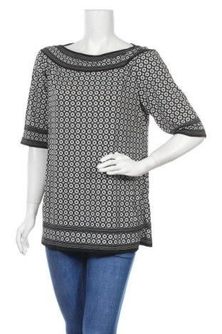 Дамска блуза Max Studio, Размер XL, Цвят Черен, 95% полиестер, 5% еластан, Цена 28,98лв.