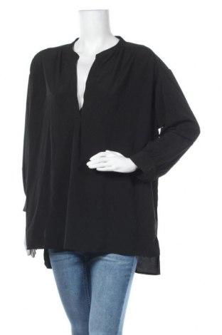 Дамска блуза Mtwtfss Weekday, Размер L, Цвят Черен, Полиестер, Цена 15,44лв.