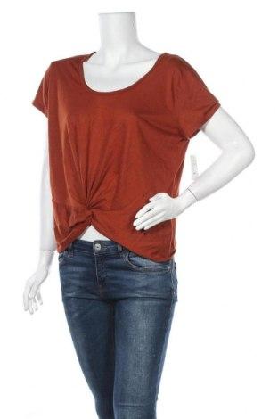 Дамска блуза Mudd, Размер L, Цвят Оранжев, 65% полиестер, 35% вискоза, Цена 16,38лв.