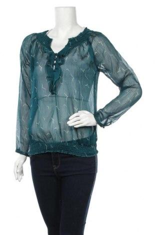 Дамска блуза Multiblu, Размер S, Цвят Зелен, Цена 14,96лв.