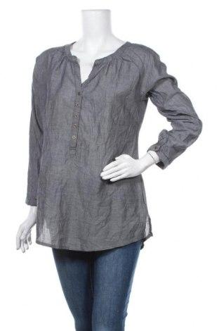 Дамска блуза Multiblu, Размер M, Цвят Сив, Памук, Цена 13,39лв.