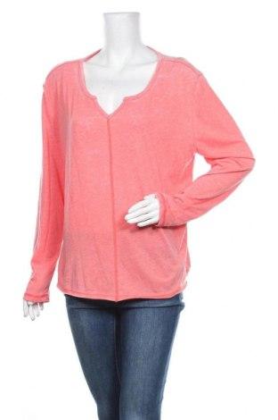 Дамска блуза Mustang, Размер L, Цвят Розов, 65% полиестер, 35% памук, Цена 11,34лв.
