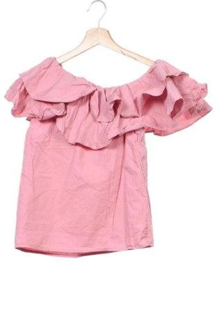 Γυναικεία μπλούζα Na-Kd, Μέγεθος XXS, Χρώμα Ρόζ , Βαμβάκι, Τιμή 10,52€