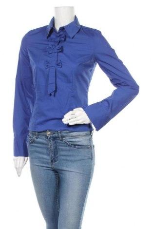 Γυναικεία μπλούζα Nife, Μέγεθος S, Χρώμα Μπλέ, 60% βαμβάκι, 40% πολυεστέρας, Τιμή 7,60€