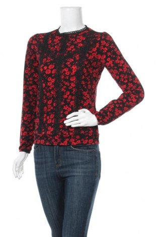 Дамска блуза Oasis, Размер XS, Цвят Червен, 93% полиестер, 7% еластан, Цена 14,52лв.