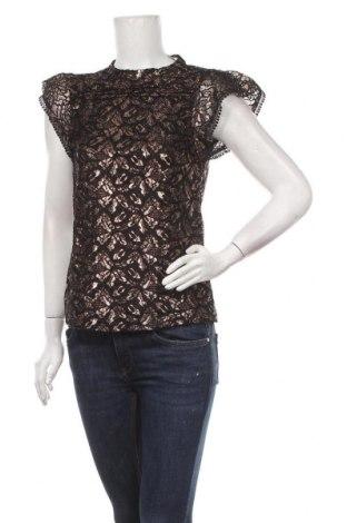 Γυναικεία μπλούζα Oasis, Μέγεθος XXS, Χρώμα Μαύρο, 92% πολυαμίδη, 8% μεταλλικά νήματα, Τιμή 16,24€