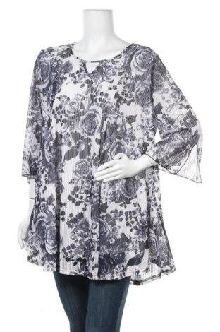 Дамска блуза Olla Oh, Размер L, Цвят Многоцветен, Полиестер, Цена 5,56лв.