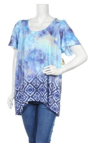 Дамска блуза One World, Размер XL, Цвят Многоцветен, 95% полиестер, 5% еластан, Цена 13,23лв.