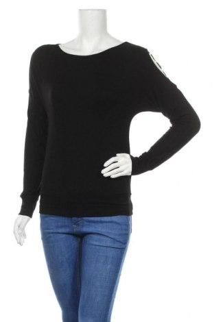 Дамска блуза Patrizia Dini, Размер S, Цвят Черен, 95% вискоза, 5% еластан, Цена 11,60лв.