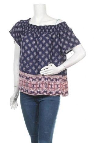 Γυναικεία μπλούζα Pink Rose, Μέγεθος L, Χρώμα Μπλέ, Πολυεστέρας, Τιμή 14,13€