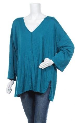Дамска блуза Regatta, Размер XL, Цвят Син, 50% памук, 50% модал, Цена 12,16лв.