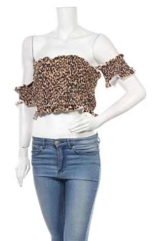 Дамска блуза SHEIN, Размер XL, Цвят Многоцветен, 97% полиестер, 3% еластан, Цена 7,22лв.