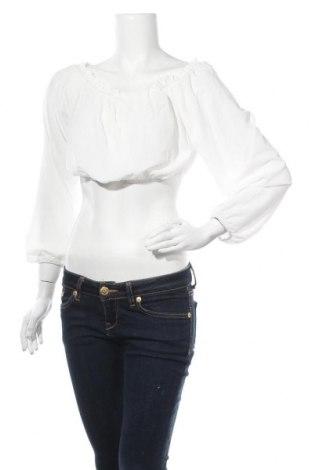 Дамска блуза SHEIN, Размер L, Цвят Бял, Полиестер, Цена 6,78лв.