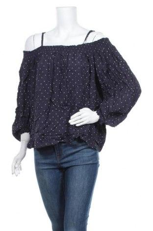 Γυναικεία μπλούζα Seed, Μέγεθος XXL, Χρώμα Μπλέ, 55% βισκόζη, 45% βαμβάκι, Τιμή 11,11€