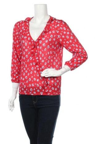 Дамска блуза Springfield, Размер M, Цвят Червен, Полиестер, Цена 4,59лв.