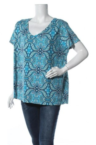 Γυναικεία μπλούζα St. John's Bay, Μέγεθος XXL, Χρώμα Πολύχρωμο, 60% βαμβάκι, 40% πολυεστέρας, Τιμή 9,35€