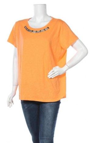 Γυναικεία μπλούζα St. John's Bay, Μέγεθος XXL, Χρώμα Πορτοκαλί, 60% βαμβάκι, 40% πολυεστέρας, Τιμή 9,94€