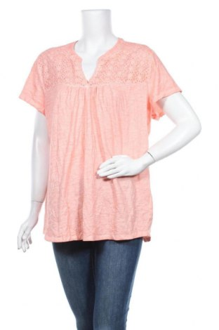 Γυναικεία μπλούζα St. John's Bay, Μέγεθος XXL, Χρώμα Πορτοκαλί, 65% πολυεστέρας, 35% βισκόζη, Τιμή 12,34€