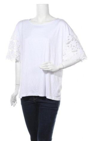 Γυναικεία μπλούζα Sussan, Μέγεθος XL, Χρώμα Λευκό, 70% βισκόζη, 30% πολυεστέρας, Τιμή 10,52€