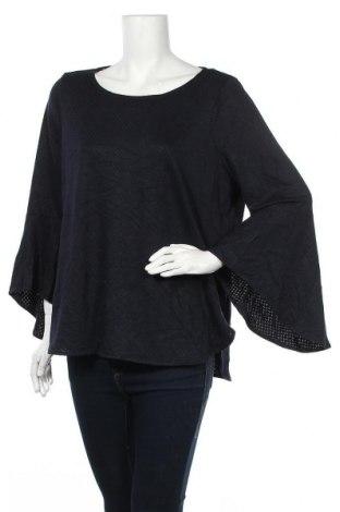 Γυναικεία μπλούζα Sussan, Μέγεθος XL, Χρώμα Μπλέ, 80% βισκόζη, 19% πολυεστέρας, 1% ελαστάνη, Τιμή 11,11€