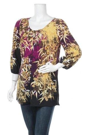 Дамска блуза Tahari, Размер M, Цвят Многоцветен, Полиестер, Цена 28,56лв.