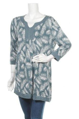 Γυναικεία μπλούζα Tchibo, Μέγεθος XL, Χρώμα Μπλέ, 95% βισκόζη, 5% ελαστάνη, Τιμή 11,69€