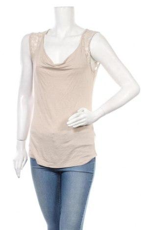 Γυναικεία μπλούζα Today, Μέγεθος M, Χρώμα  Μπέζ, 95% βισκόζη, 5% ελαστάνη, Τιμή 11,04€
