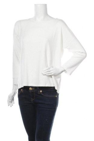 Γυναικεία μπλούζα Tom Tailor, Μέγεθος S, Χρώμα Λευκό, 80% βισκόζη, 20% πολυεστέρας, Τιμή 7,58€