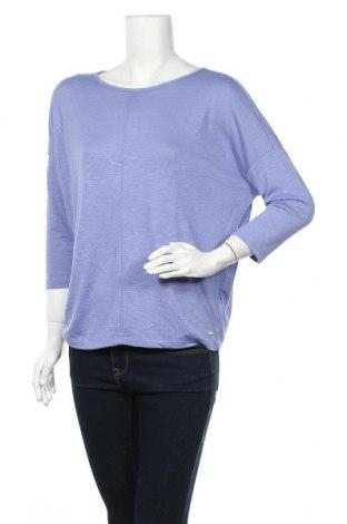 Γυναικεία μπλούζα Tom Tailor, Μέγεθος S, Χρώμα Βιολετί, 50% βισκόζη, 50% πολυεστέρας, Τιμή 9,60€