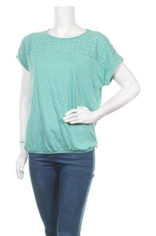 Γυναικεία μπλούζα Tom Tailor, Μέγεθος M, Χρώμα Μπλέ, 50% βαμβάκι, 50% μοντάλ, Τιμή 17,18€