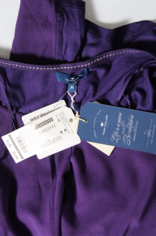 Γυναικεία μπλούζα Tom Tailor, Μέγεθος M, Χρώμα Βιολετί, 98% πολυεστέρας, 2% ελαστάνη, Τιμή 26,68€