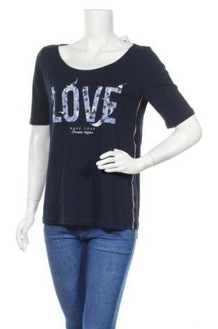 Γυναικεία μπλούζα Tom Tailor, Μέγεθος M, Χρώμα Μπλέ, Βαμβάκι, Τιμή 17,18€