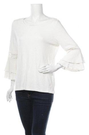 Γυναικεία μπλούζα Tu, Μέγεθος XL, Χρώμα Λευκό, 79% βισκόζη, 19% πολυεστέρας, 2% ελαστάνη, Τιμή 11,69€