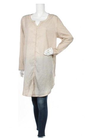 Γυναικεία μπλούζα Ulla Popken, Μέγεθος XL, Χρώμα  Μπέζ, Πολυεστέρας, Τιμή 12,34€